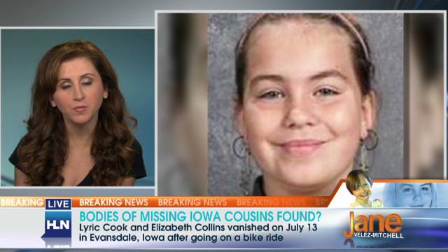 Bodies of missing Iowa cousins found?