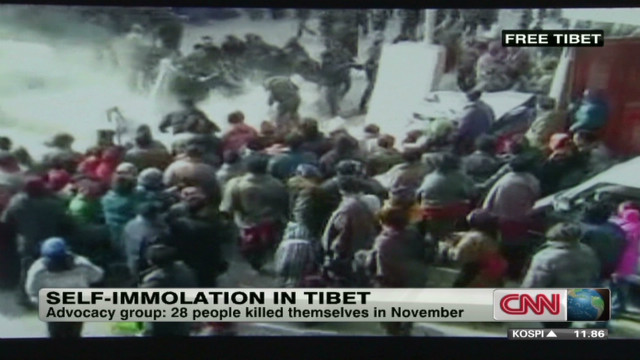 Tibetan self-immolations on the rise
