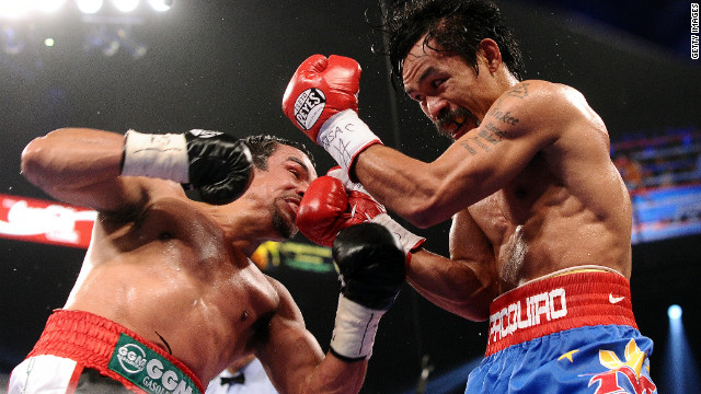 Pacquiao battles Marquez for 4th time
