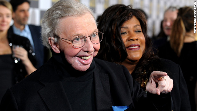 Film critic Roger Ebert arrives at the 25th Film Independent's Spirit Awards held at Nokia Event Deck at L.A. Live on March 5, 2010 in Los Angeles, California. (Photo by Kevin Winter/Getty Images)