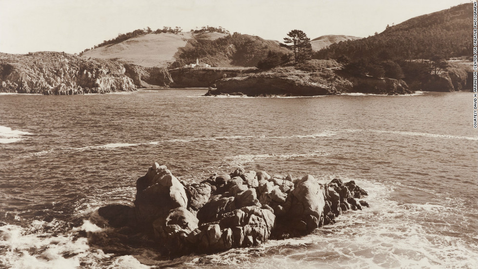 Whaler's Cove, Carmel Mission, about 1953. All Photographs by Ansel Adams ©2012 The Ansel Adams Publishing Rights Trust
