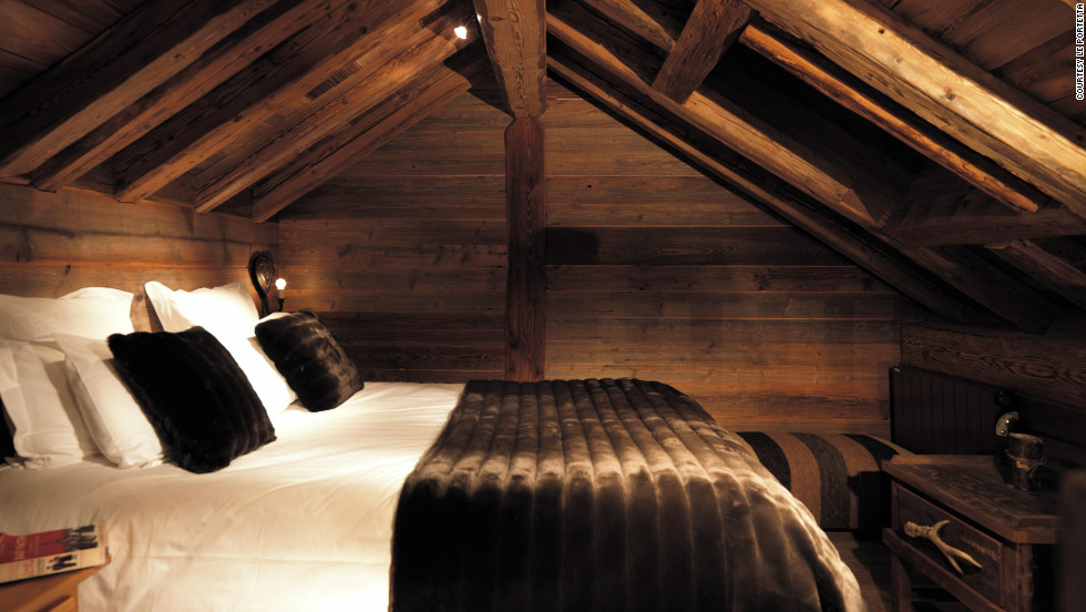 Petite Marmotte is a romantic chalet for two.