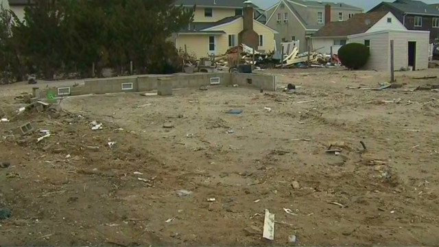 Sandy-hit home bulldozed without warning