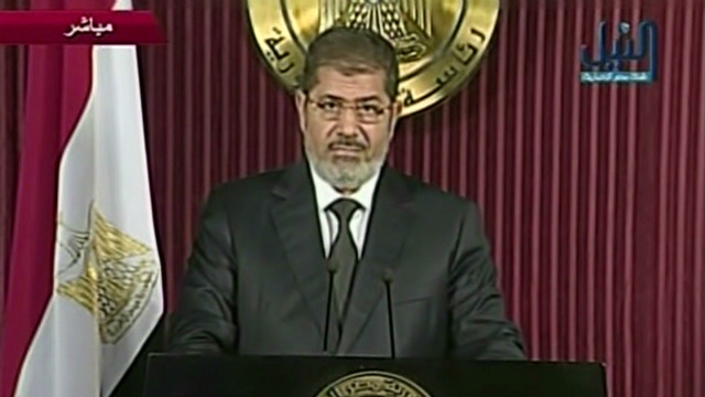 Egyptian Pres. Morsy offers compromise