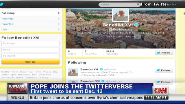 What the Pope will tweet
