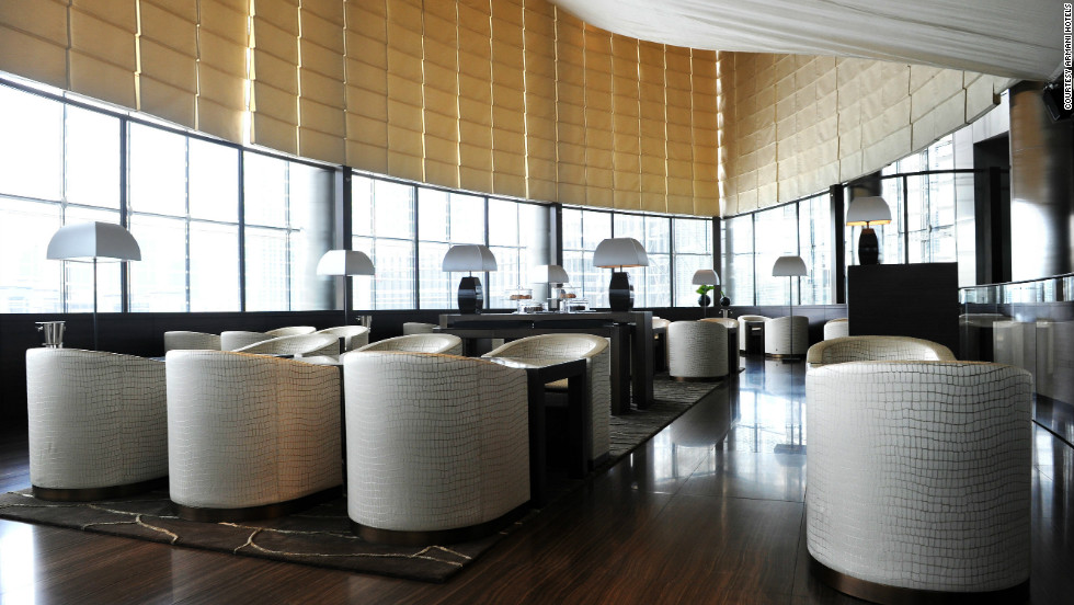 """A hotel is an entity that goes beyond the confines of fashion. It's something that will endure over time,"" says Armani Hotel Dubai's regional general manager Jason Harding."