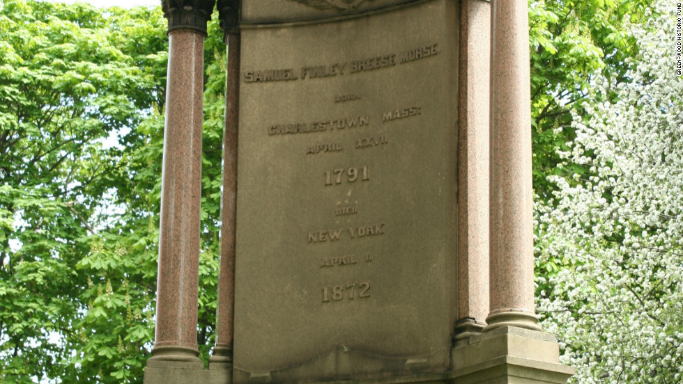 "There's a plethora of famous Americans buried at Green-Wood, including Samuel Morse, inventor of the single-wire telegraph and known for his Morse code.  The cemetery's website cites The New York Times, which wrote in 1866, ""It is the ambition of the New Yorker to live upon Fifth Avenue, to take his airings in the (Central) Park, and to sleep with his fathers in Green-Wood."""