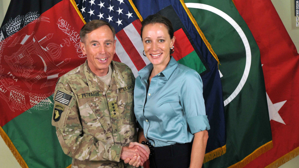 CIA Director David Petraeus resigned from his job because his extramarital affair was discovered.