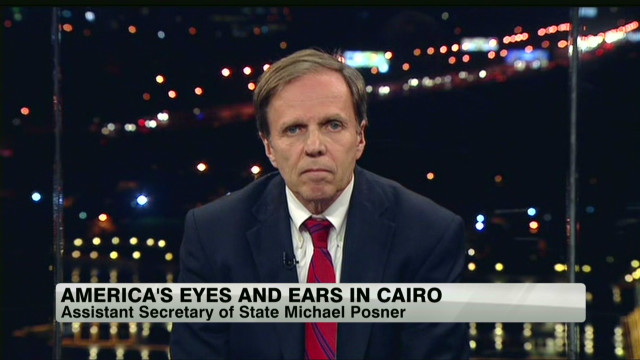 America's eyes and ears in Egypt