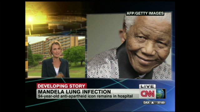 Mandela condition 'extremely concerning'