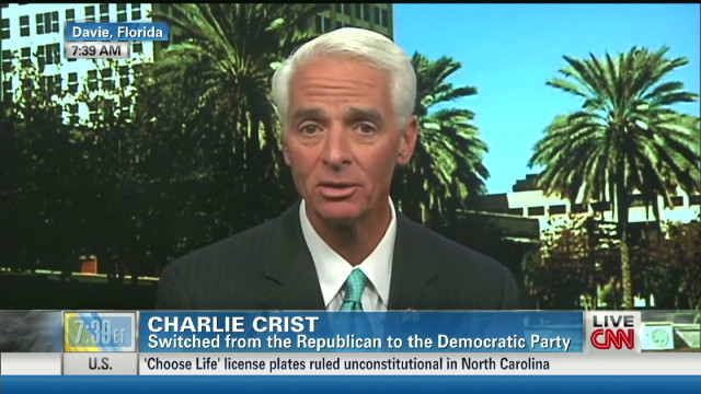 Crist: GOP leadership rigid, challenging