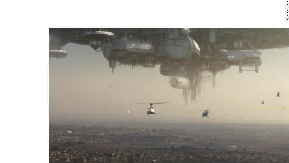 """District 9"" (2009), starring Sharlto Copley and David James. The sci-fi thriller, which was set and shot in South Africa with a local cast and crew, made international headlines."