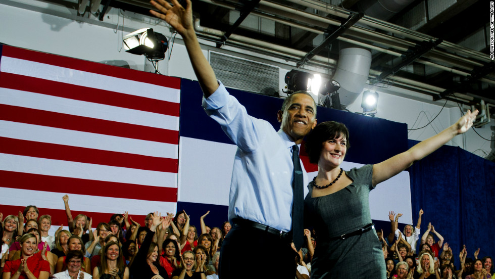 "Sandra Fluke is the Georgetown University Law School student who testified before Congress on the need for access to reproductive health care, including contraception. Conservative talk show host Rush Limbaugh called her a ""slut."" Fluke campaigned for President Barack Obama and spoke at the Democratic convention on women's rights."