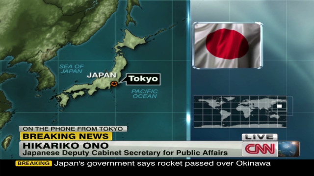 Japan: Missile launch is intolerable