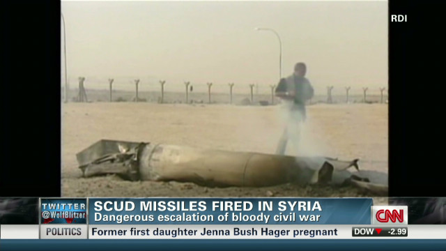 Is Syria using scuds?