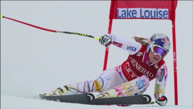 Lindsey Vonn's bid to race men