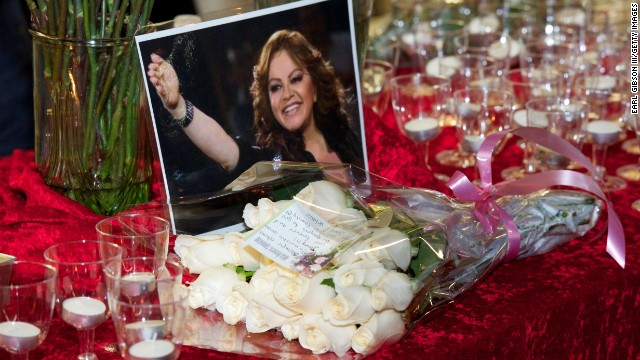 LONG BEACH, CA - DECEMBER 10: A general view of atmosphere at a candellight vigil for singer Jenni Rivera on December 10, 2012 in Long Beach, California. US authorities confirmed that Rivera, a U.S.-born singer, was killed in a plane crash in rugged territory in Nuevo Leon state in northern Mexico upon impact.