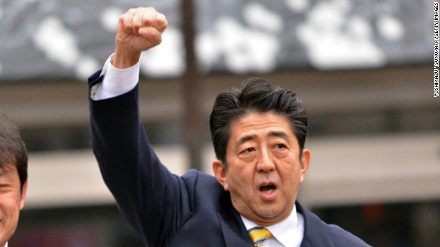 Japan's leadership changes