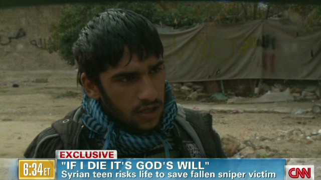 Syrian teen: 'If I die it's God's will'