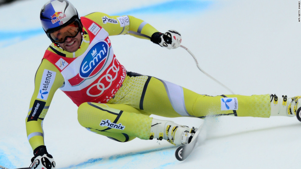 Last season Norwegian Aksel Lund Svindal's best performances came in the the speed disciplines -- super-G and downhill.
