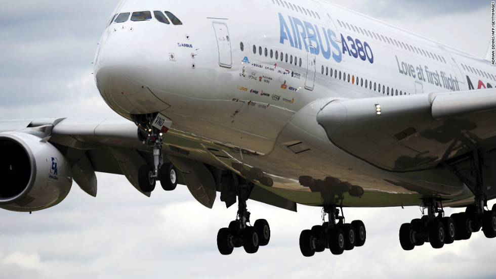 The A380 is the world's largest passenger plane, capable of carrying more than 600 passengers. Even with all extra seats filled, the plane still wouldn't be carrying its full load capacity, Airbus says.