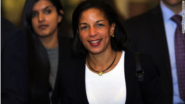Susan Rice, President Obama's national security adviser.