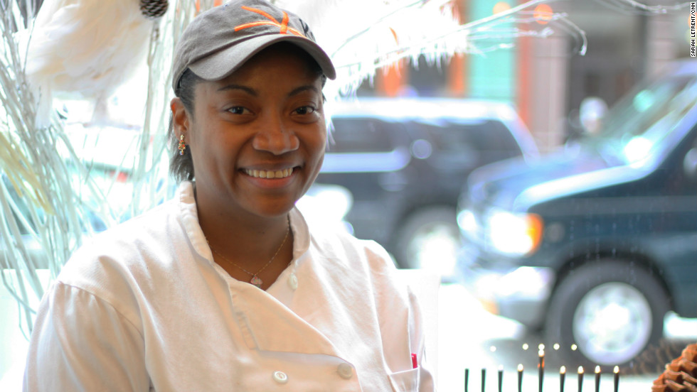 Stephanie Teekaram is the pastry chef at Kutsher's Tribeca, a modern Jewish-American bistro.