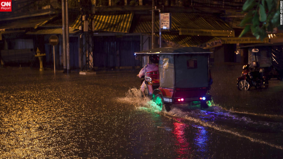 "<a href=""http://ireport.cnn.com/docs/DOC-856596"">Phnom Penh, Cambodia</a> was hit with a torrential downpour of rain in October, causing flash flooding. Jim Heston was in awe of the fact that his camera was able to capture falling rain as well as it did."