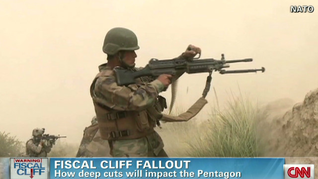 Fiscal cliff fallout at the Pentagon