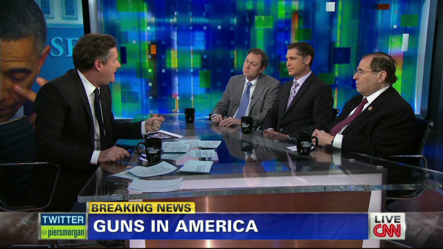 Debating gun laws in America