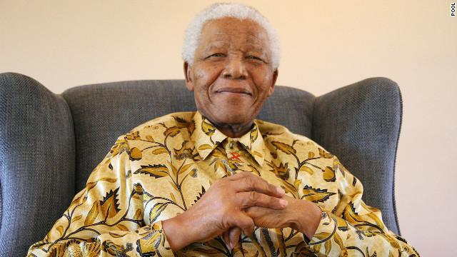 Nelson Mandela 'responding positively'