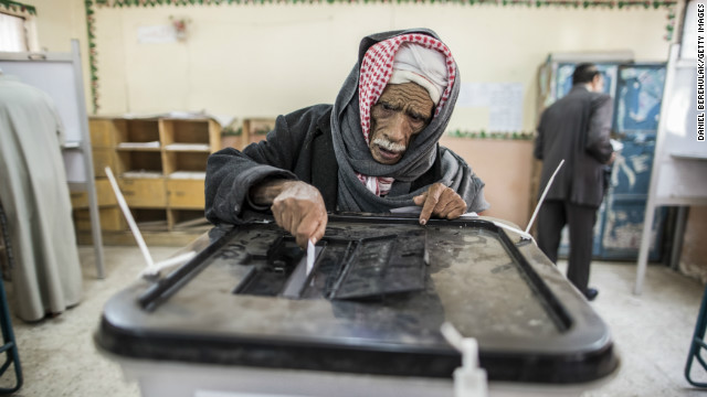Egyptians take to the polls