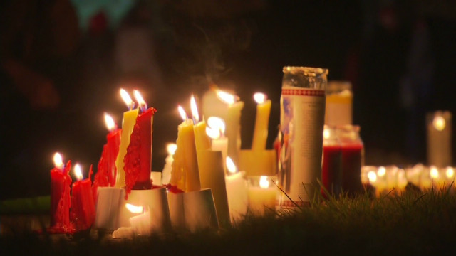 Vigils held in Connecticut  for victims