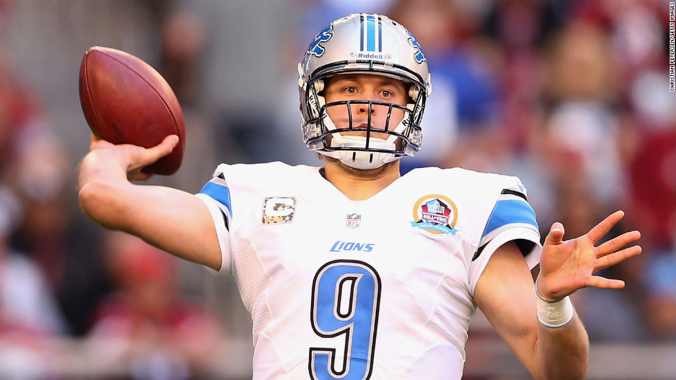 Stafford has managed just two winning seasons out of his seven in the league -- though he has endured a weak supporting cast. The Detroit Lion QB posted an excellent 2015 (32 TDs, 13 INT, 97 QBR), and is riding an 82-game starting streak, 19th best of all time.