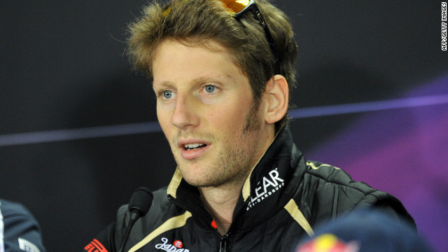 Romain Grosjean finished eighth in the 2012 Formula One drivers' championship on 96 points