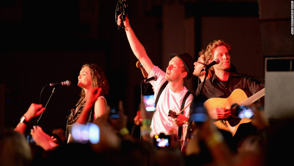 """Ho Hey,"" the first single off The Lumineers' self-titled debut album, was released in June. It has spent 27 weeks on Billboard's Hot 100, peaking at No. 4; and it's currently the No. 1 tune on Billboard's Rock Songs chart."