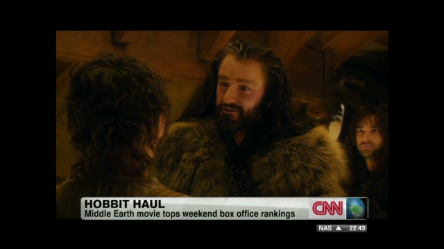 'The Hobbit' has huge weekend