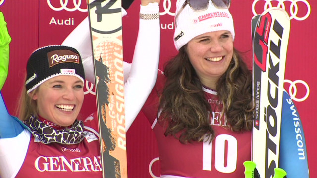 Lara Gut wins World Cup downhill