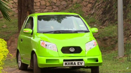 Uganda's $35,000 electric car