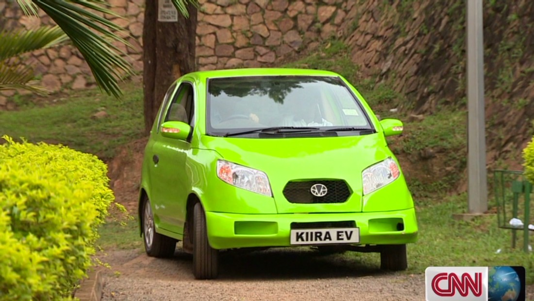 The team behind the Kiira EV included leather seats and a CD player in their model.