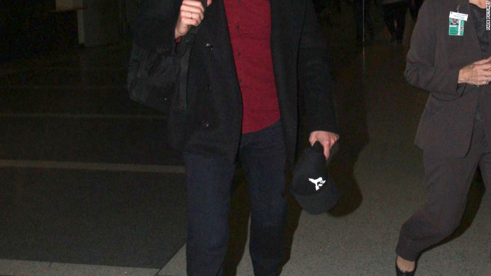 Bradley Cooper catches a flight out of LAX.