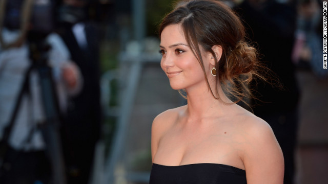 "Jenna-Louise Coleman plays Clara Oswin on ""Doctor Who."""