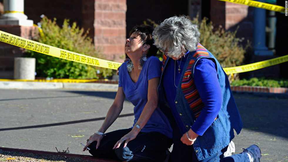 "Jared Lee Loughner opened fire on a ""Congress on your Corner"" event held by former Rep. Gabrielle Giffords. The attack killed six and wounded more than a dozen people including the congresswoman, who barely survived a gunshot wound to the head."