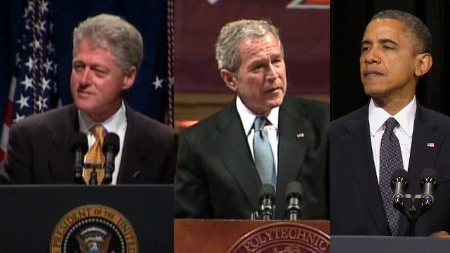 3 tragedies, 3 presidents, 13 years
