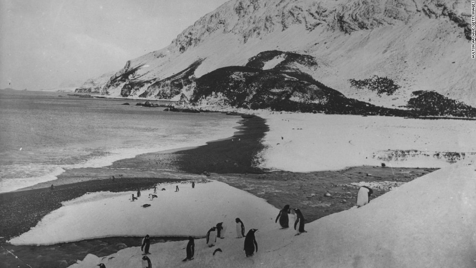 When <em>Endurance</em> finally sank, Shackleton and his men ended up on the remote and uninhabited Elephant Island having spent two years adrift in the Antarctic.
