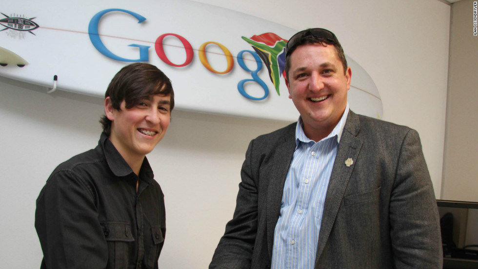 His pioneering website has garnered interest from the tech world, including Google.