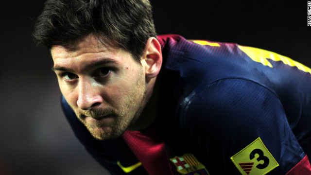 Lionel Messi watched from the sidelines as his Barca teammates eased into the last eight of the Copa del Rey.