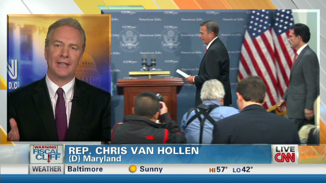 Van Hollen: GOP running away from table