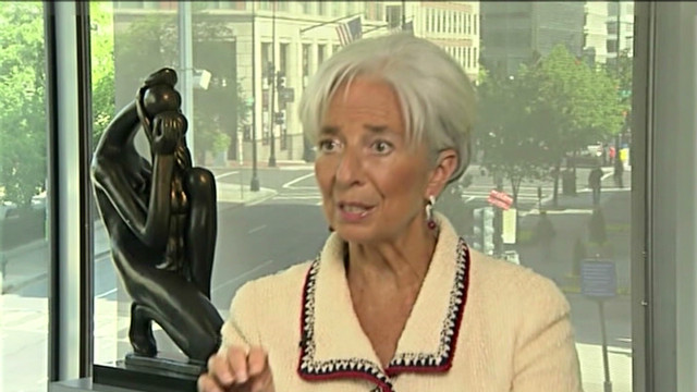 IMF chief Christine Lagarde on economy
