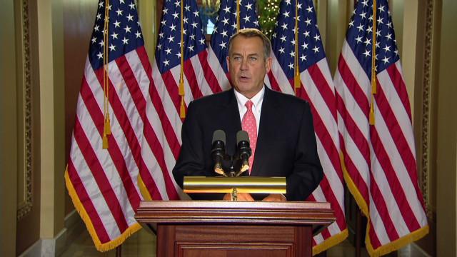 Boehner abandons Plan B